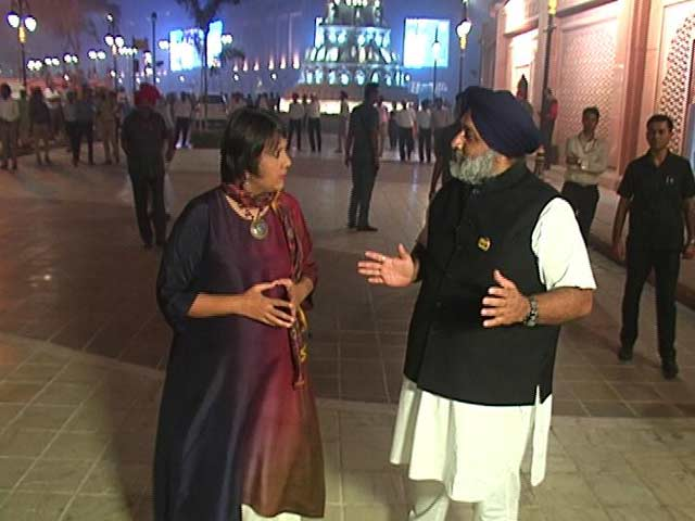 Video : 'Sidhu A Human Bomb; Kejriwal Like New Mobile Phone, Already Rejected': Sukhbir Badal