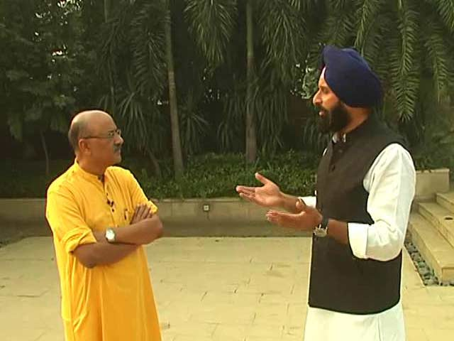 Video : Walk The Talk With Akali Dal Leader Bikramjit Singh Majithia