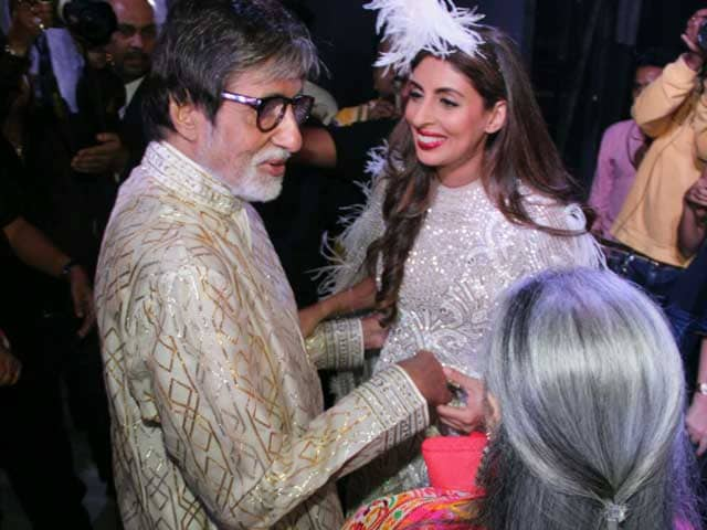 Video : The 'Shy Member' of Bachchan Family Walks The Ramp