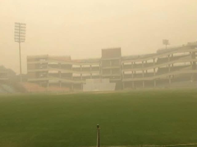 Video : Delhi Smog Forces Cancellation of Day 1's Play in Ranji Trophy Matches