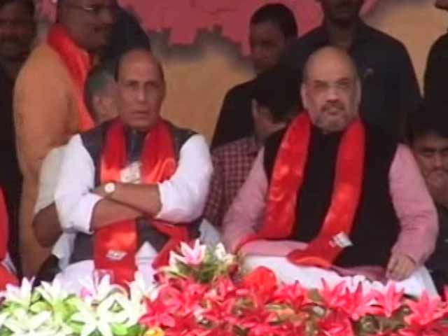 Video : BJP Brass In UP Accuses Congress Of Politicising OROP, Talk Of Surgical Strikes