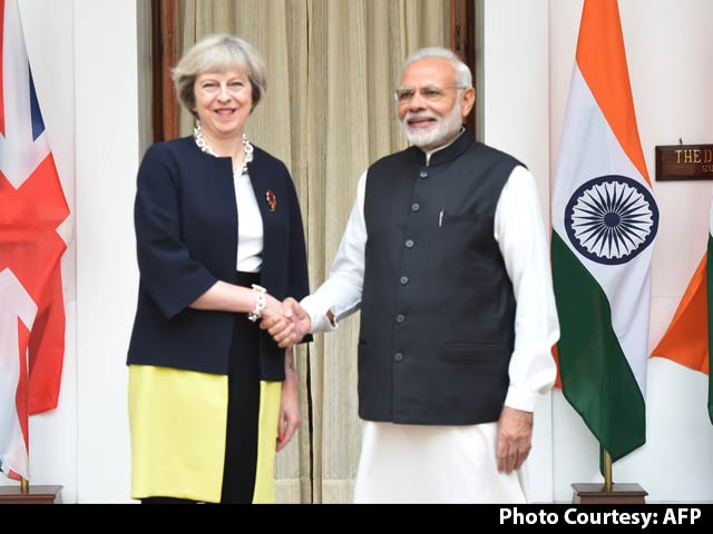 Video : Easier Travel For Indians, Says British PM Theresa May On First Visit