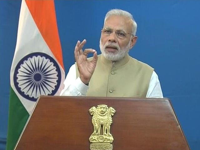 Video : Watch PM Modi's Entire Speech On Discontinuing Rs 500, 1000 Notes