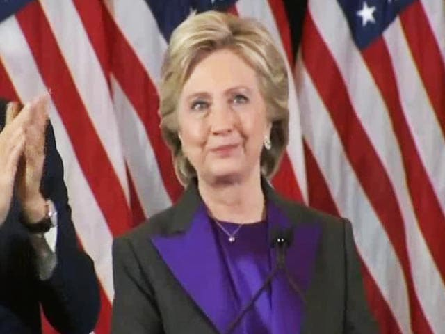 Video : We Owe Trump An Open Mind And The Chance To Lead: Hillary Clinton