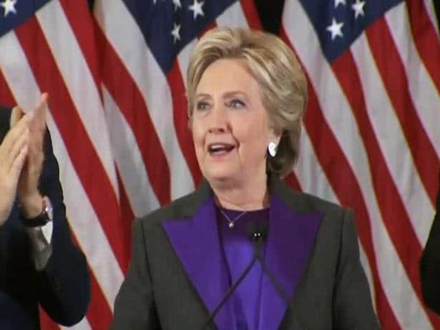 Video : Yet To Shatter The Glass Ceiling, Says Hillary Clinton