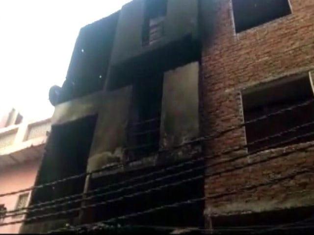 Video : साहिबाबाद की लेदर फैक्टरी में लगी आग 13 लोगों की मौत