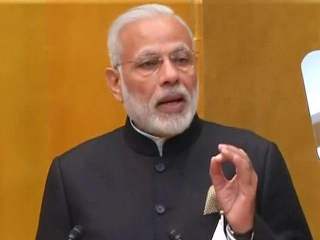 Video : India Aims To Be World's Most Open Economy: PM Narendra Modi