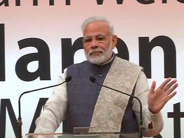 Video : On Currency Ban, PM Modi Says 'This Is Biggest Cleanliness Drive'