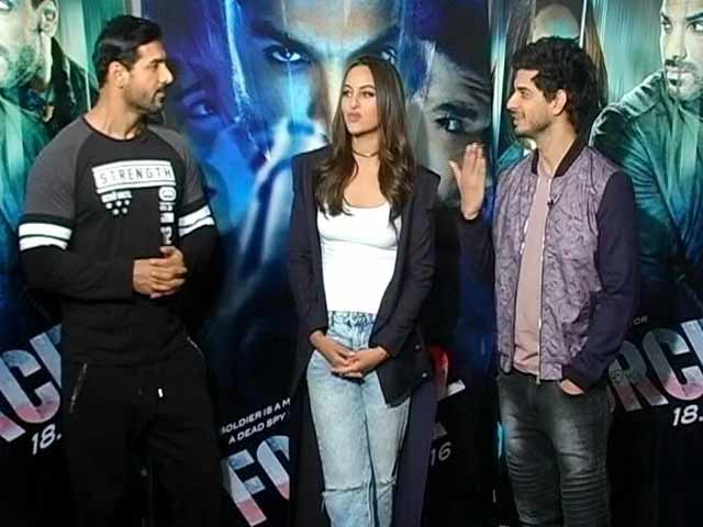 Video : <i>Force 2</i>'s John Abraham, Sonakshi Sinha On Donald Trump And Scrapping Of Notes