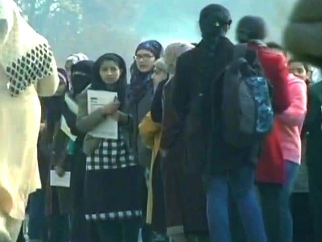 Video : Exams Today In Kashmir Despite A 4-Month Shutdown