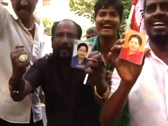 Video : 'Rebirth,' Says Jayalalithaa In First Statement From Hospital