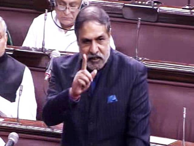 Video : Anand Sharma Begins Debate On Notes Ban, Accuses 'Financial Anarchy'