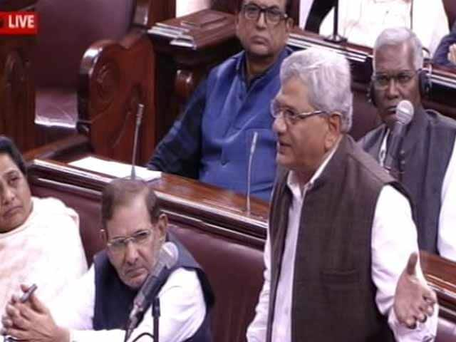 Video : 'Now We Have Modi Antoinette,' Says Left's Sitaram Yechury In Notes Ban Debate