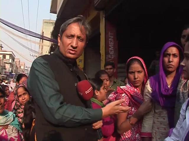 Video : प्राइम टाइम : नोटबंदी ने करा दी घरों की बंदी, खोड़ा की महिलाओं की दर्दनाक दास्तान