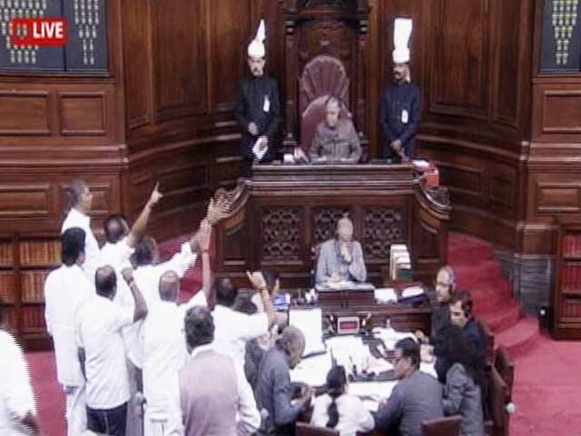 Video : Opposition Stalls Parliament, Wants PM To Answer On Notes Ban