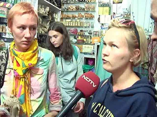 Video : Currency Ban Takes A Hit At Tourism Sector In Delhi, Foreigners Left Helpless