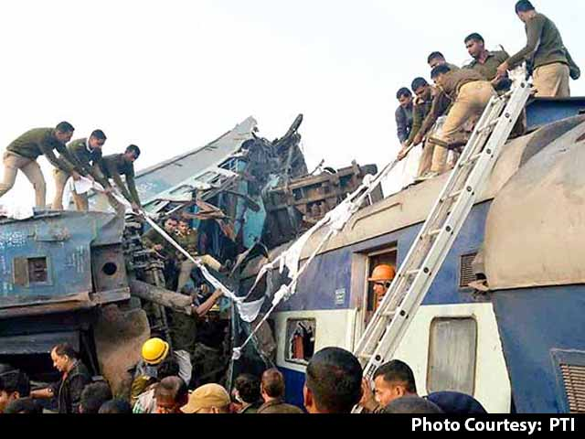 Video : Kanpur Train Accident: 143 Dead, Search For Survivors Called Off