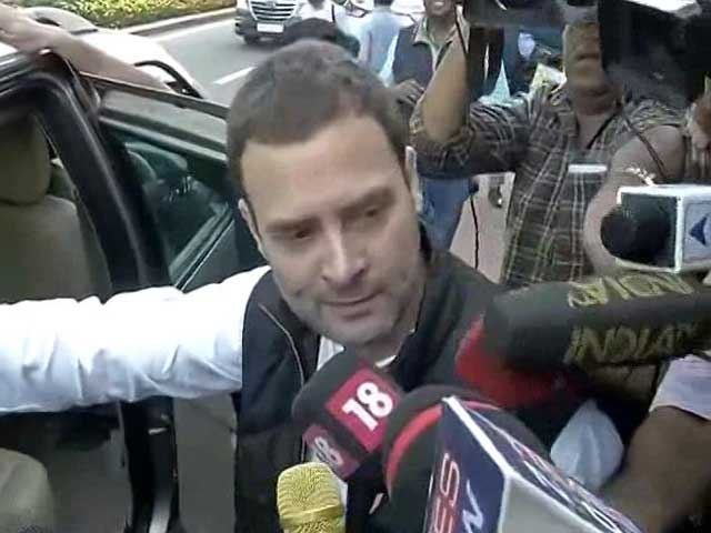 Video : PM Has Time To Address Coldplay But Not Parliament, Says Rahul Gandhi