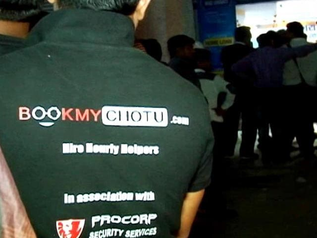 Video : BookMyChotu: Rs. 90 An Hour To Stand In ATM Line For You