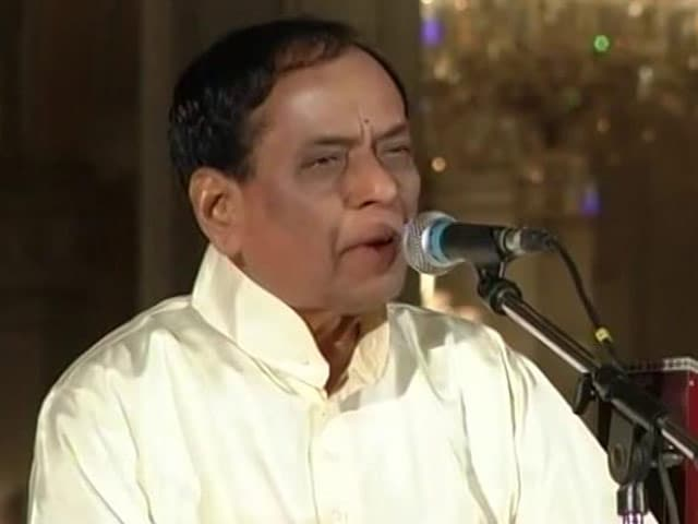 Video : M Balamuralikrishna, Carnatic Music Legend, Dies at 86