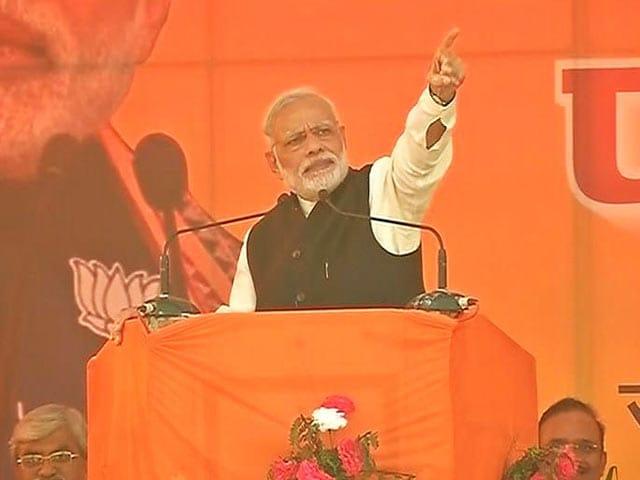 Video : Narendra Modi Says 'Historic' Response To Survey, Over 90% Back Notes Ban