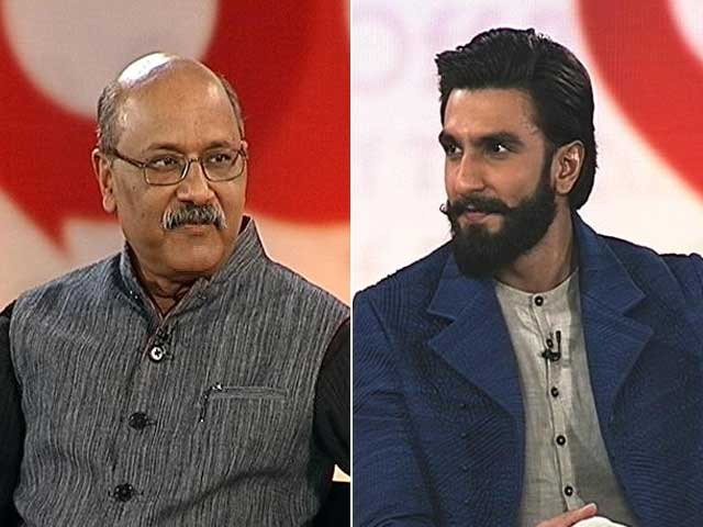 Video : Ranveer Singh Says Don't Want To Be Remembered As Best Actor But As...