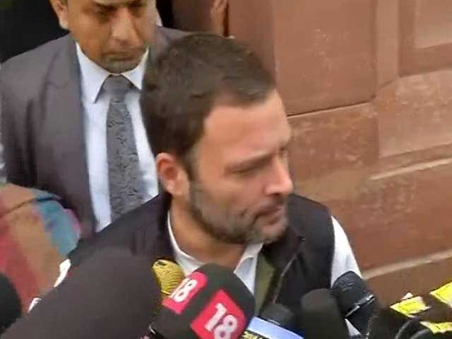 Video : Government Returning 50 Per Cent Black Money To Hoarders: Rahul Gandhi