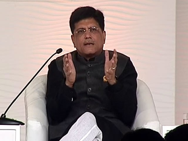 Video: India Wants Disruptive Change: Minister Piyush Goyal On Notes Ban