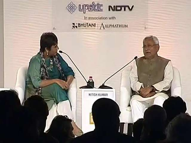 Video: Support Notes Ban As I Believe It Is A Good Step, Says Nitish Kumar