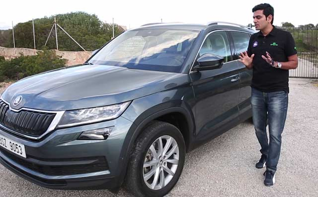 skoda kodiaq price in india images mileage features reviews skoda cars. Black Bedroom Furniture Sets. Home Design Ideas