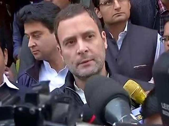 Video : For Rahul Gandhi's Speech On Notes Ban Debate, Congress May Ease Up: Sources