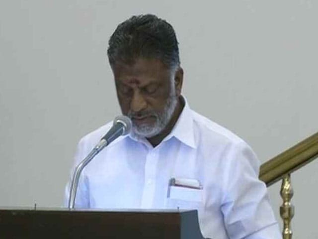 Video : O Panneerselvam, Jayalalithaa Loyalist, Is New Tamil Nadu Chief Minister