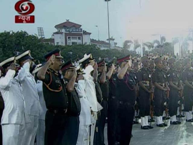 Video : Guard Of Honour For J Jayalalithaa, Tamil Nadu's Beloved Amma