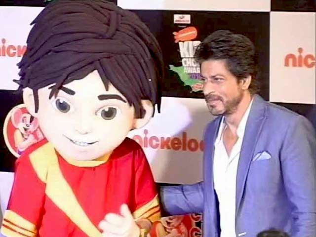 Video : शाहरुख खान बने 'किड्स आइकन ऑफ इ ईयर'...
