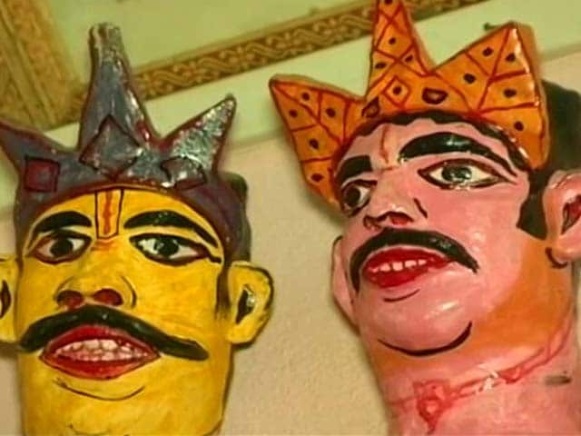 Video : Mask Making In Assam's Majuli For Autumn Festivities