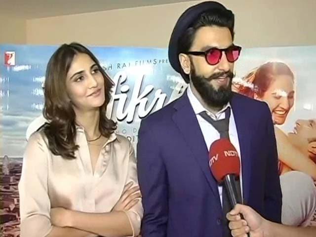 Video : '<i>Befikre</i> Isn't Frivolous,' Says Ranveer Singh
