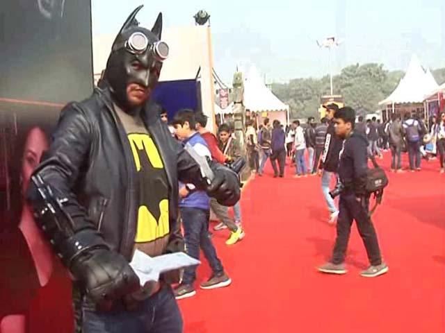 Video : 6th New Delhi Comic Con Brings Popular International Comic Creators