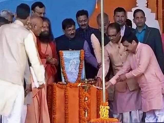 Videos : मध्य प्रदेश के मुख्यमंत्री शिवराज सिंह चौहान ने नर्मदा सेवा यात्रा को दिखाई हरी झंडी