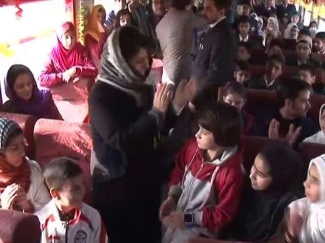 Video : After 5 Months At Home, Kashmir Children Get A Special Train Ride
