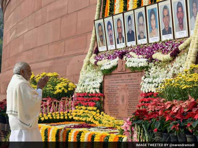 Video : Lawmakers Pay Tribute To Those Killed In 2001 Parliament Attack
