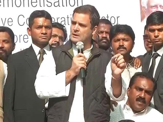 Video : Rahul Gandhi's Moxie On Notes Ban Boosts Credentials Among Opposition