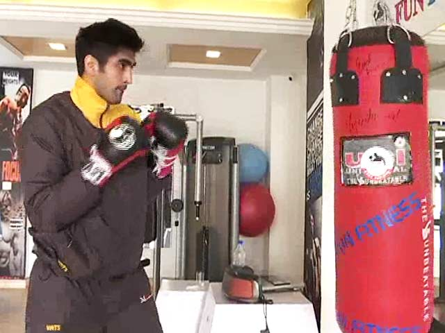 Vijender Singh Gears up to Defend Title Against Francis Cheka