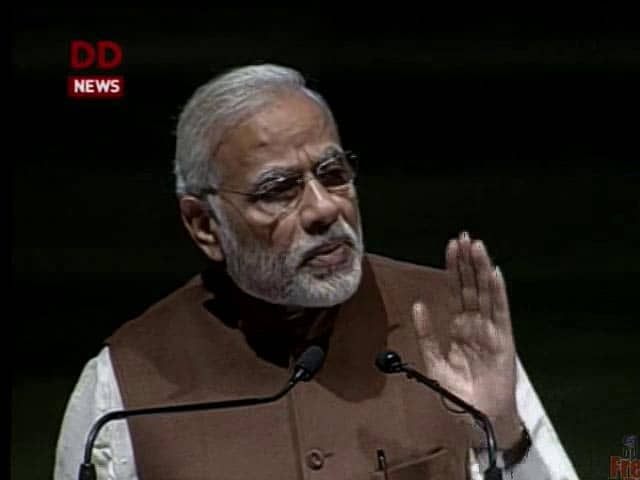 Video : Indira Gandhi Ignored Advice To Demonetise, Sold Out India: PM Modi