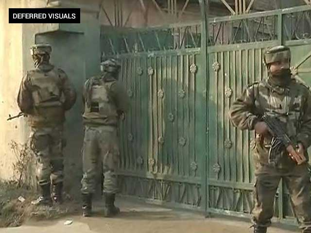 Video : 3 Soldiers Killed After Terrorists Attack Army Convoy In Pampore Near Srinagar