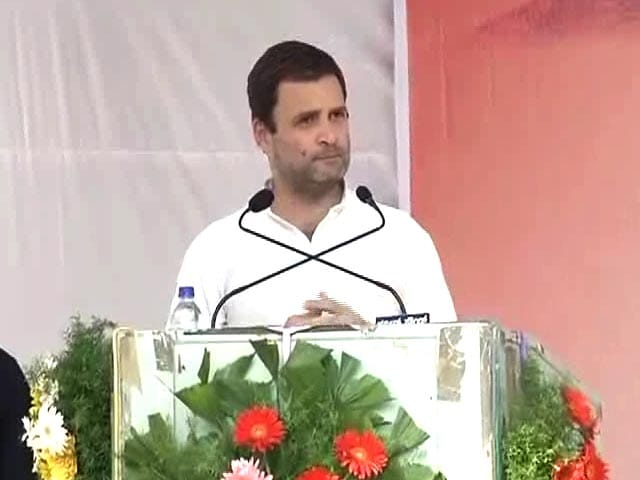 Video : Notes Ban A 'Modi-Made Disaster', Says Rahul Gandhi A Day After Meeting PM