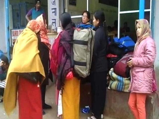 Video : Passengers Stranded As Dimapur-Imphal Passenger Bus Service Suspended