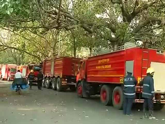 Video : Fire Breaks Out At 22nd Floor Of Air India Building In Mumbai's Nariman Point