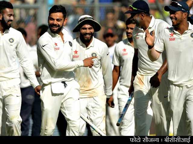 Videos : INDvsENG : टीम इंडिया ने चेन्नई टेस्ट के साथ सीरीज़ 4-0 से जीती