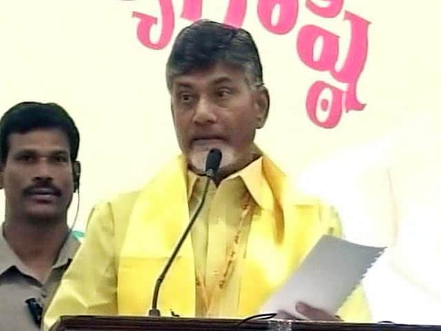 Video : 'Breaking My Head Daily'; BJP Ally Chandrababu Naidu's 180 On Notes Ban
