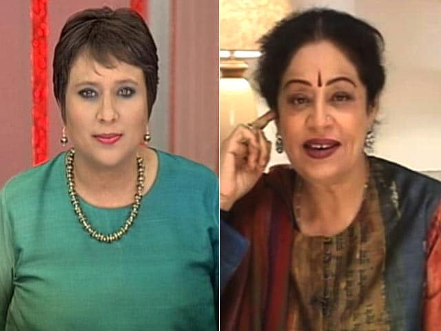 Video : Come And Contest, We're Ready: Kirron Kher To Kejriwal Post BJP's Chandigarh Win